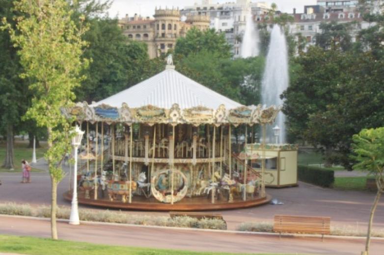 location manege carrousel